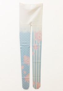 まんこちゃん柄タイツ / MANKO-Chan pattern tights